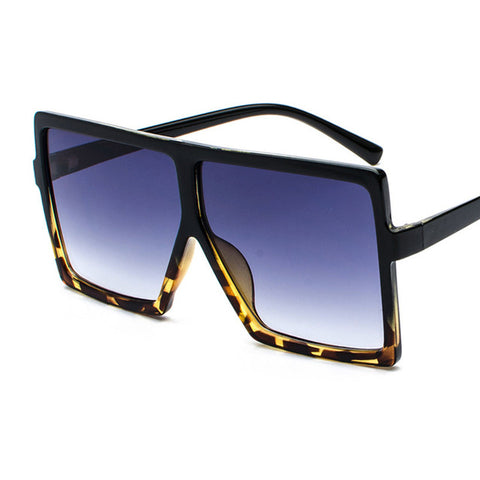 Brand Designer Big Frame Oversized Vintage Sunglasses for Women