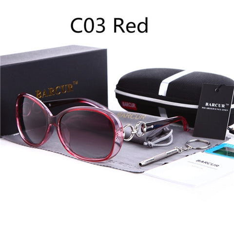 New Polarized Sunglasses Women Brand Designer Female Sunglass Vintage Sun Glasses