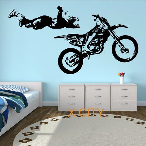 MOTOCROSS STUNT Wall Stickers