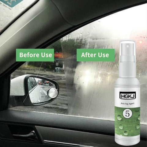 Anti Fog Spray, HGKJ-5 Car Anti Fog Agent for Car Vehicle Window/Windshield /Mirrors/Glasses / Helmet, Etc