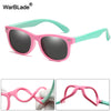 New Kids Polarized Sunglasses TR90 Boys/Girls Sun Glasses Silicone Safety  Glasses Gift For Children Baby UV400 Eyewear