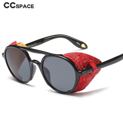 Steampunk Goggle Sunglasses Men Women 2019 Retro Sun Glasses Vintage Eyewear