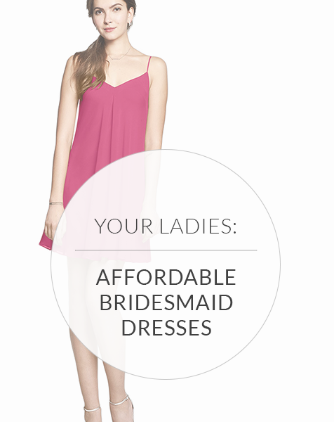 Affordable Bridesmaid Dresses: Keep Your Wedding Chic & Cheap