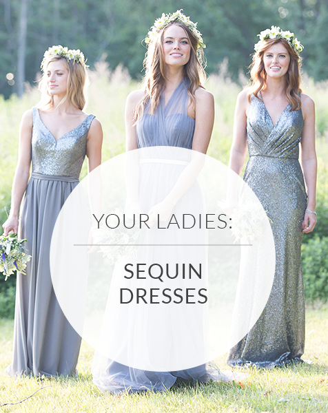 Sequin Bridesmaid Dresses that Redefine Shine | 8 Trending Styles