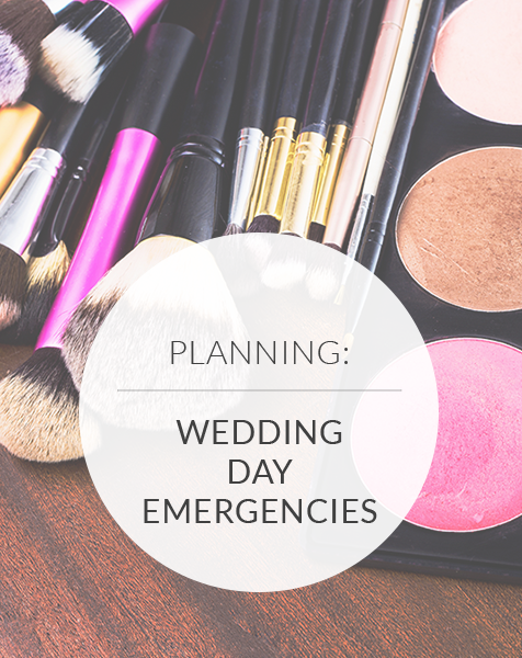 6 Wedding Day Emergencies Every Bride Fears