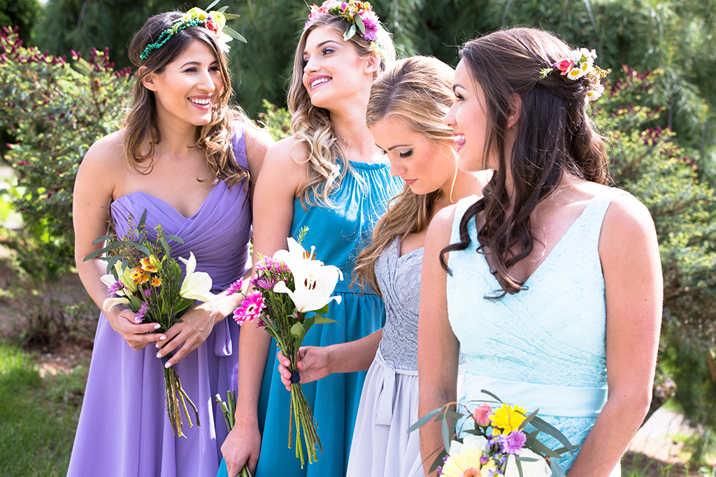 mismatched-bridesmaid-dresses