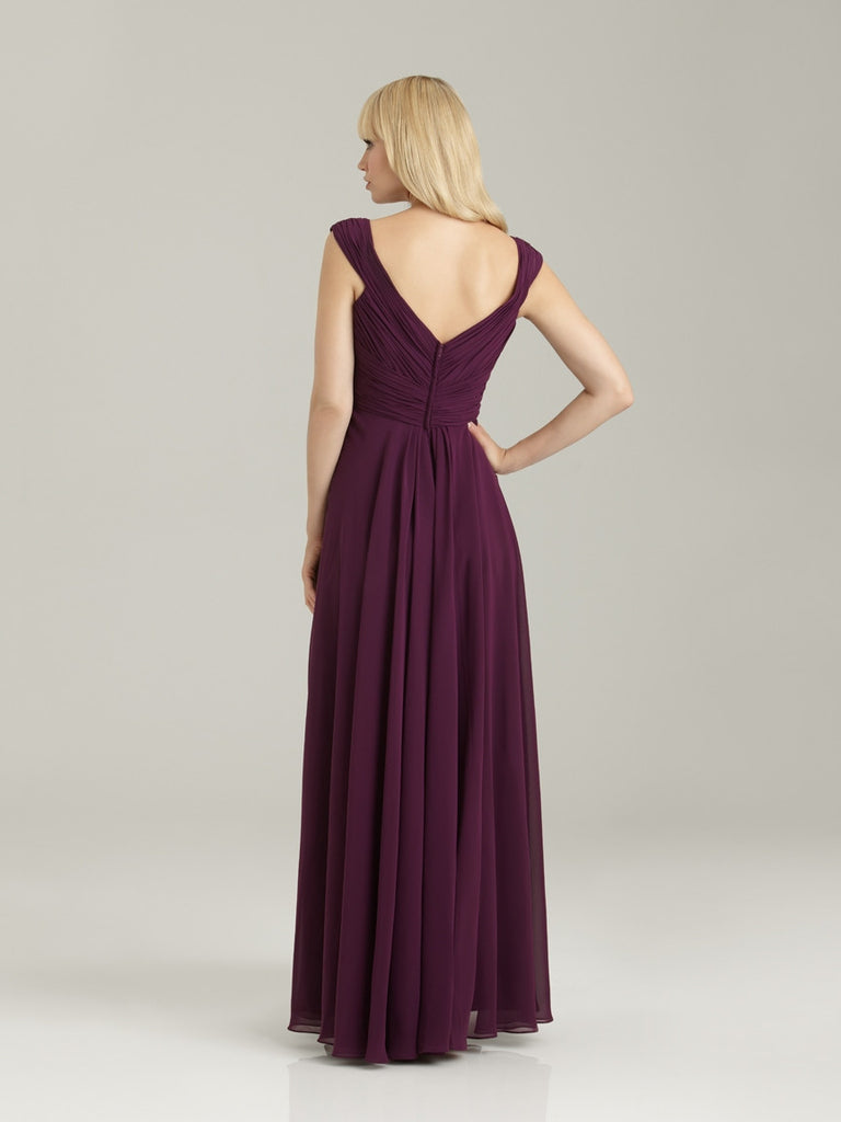 Allure 1334 V-Neck Bridesmaid Gown