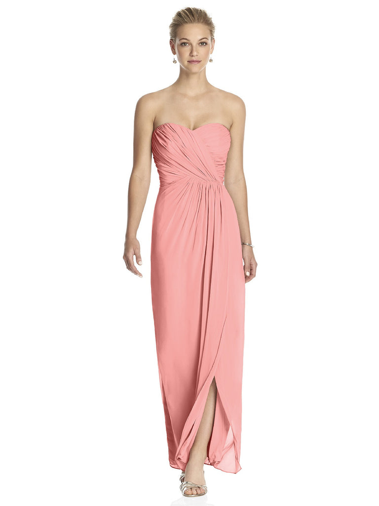 Dessy 2882 Strapless Chiffon Bridesmaid Dress