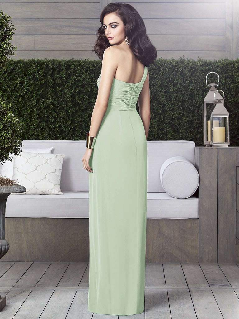Dessy 2905 Long Chiffon Bridesmaid Gown