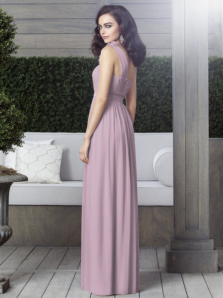 Dessy 2909 One Shoulder Bridesmaid Dress