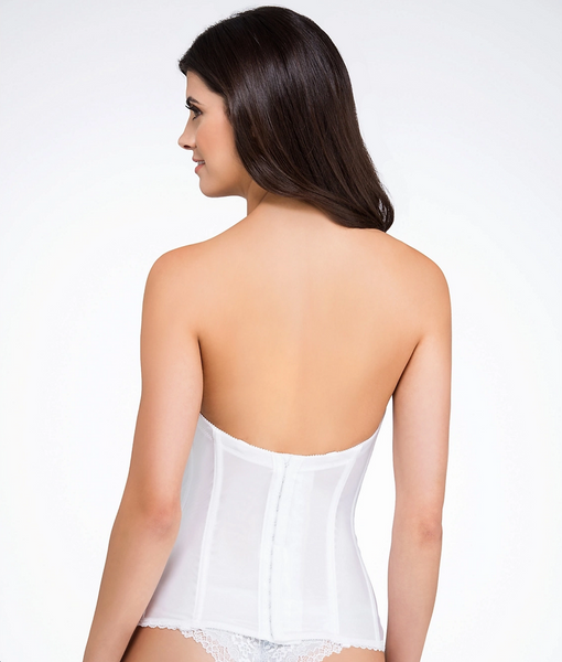 Low-Back Strapless Bridal Bustier | Va Bien 513