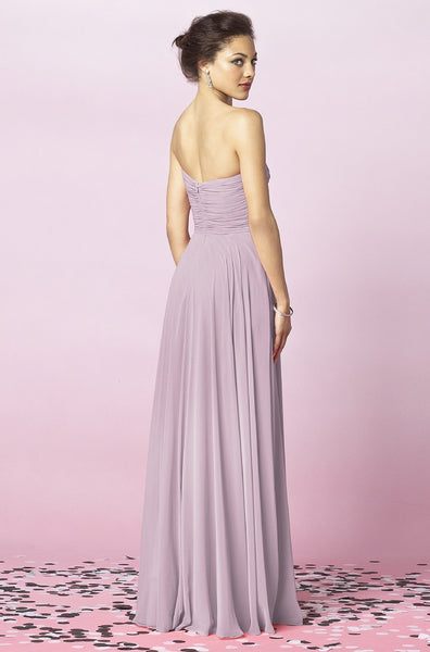 After Six 6639 Strapless Bridesmaid Dress
