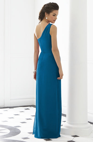 After Six 6646 One Shoulder Bridesmaid Dress