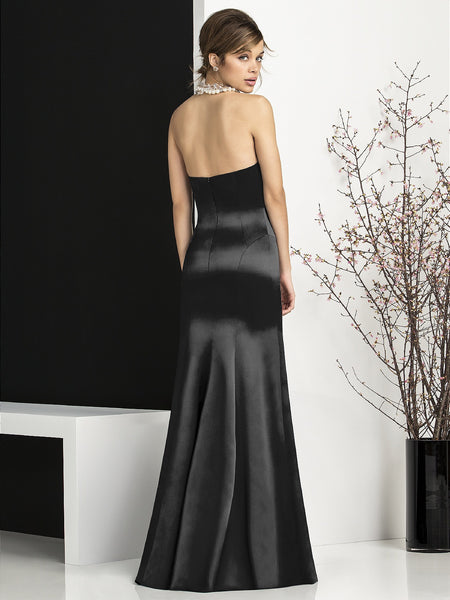 After Six 6673 Long Strapless Bridesmaid Gown