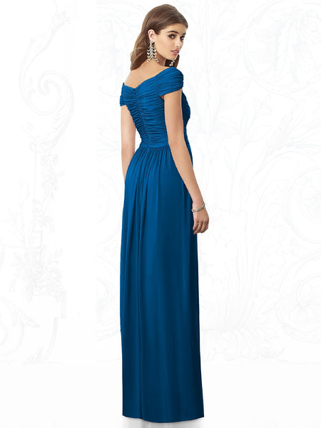 After Six 6697 V-Neck Bridesmaid Dress