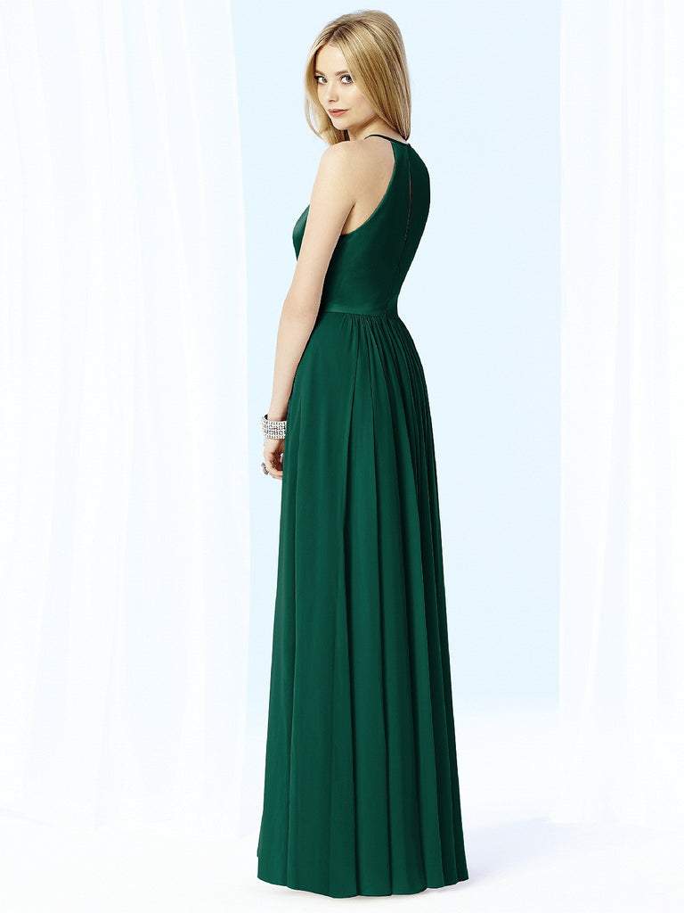 After Six 6705 Chiffon Halter Bridesmaid Gown