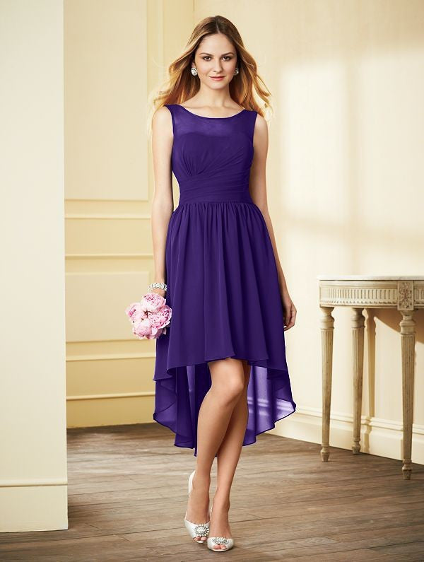 Alfred Angelo 7298S Hi-Low Bridesmaid Dress