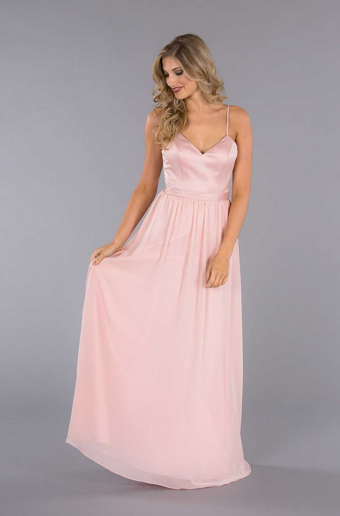 Kennedy Blue Abigail Long Chiffon Gown