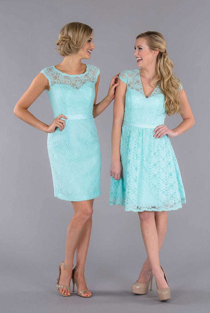 Kennedy Blue Mix and Match Lace Dresses