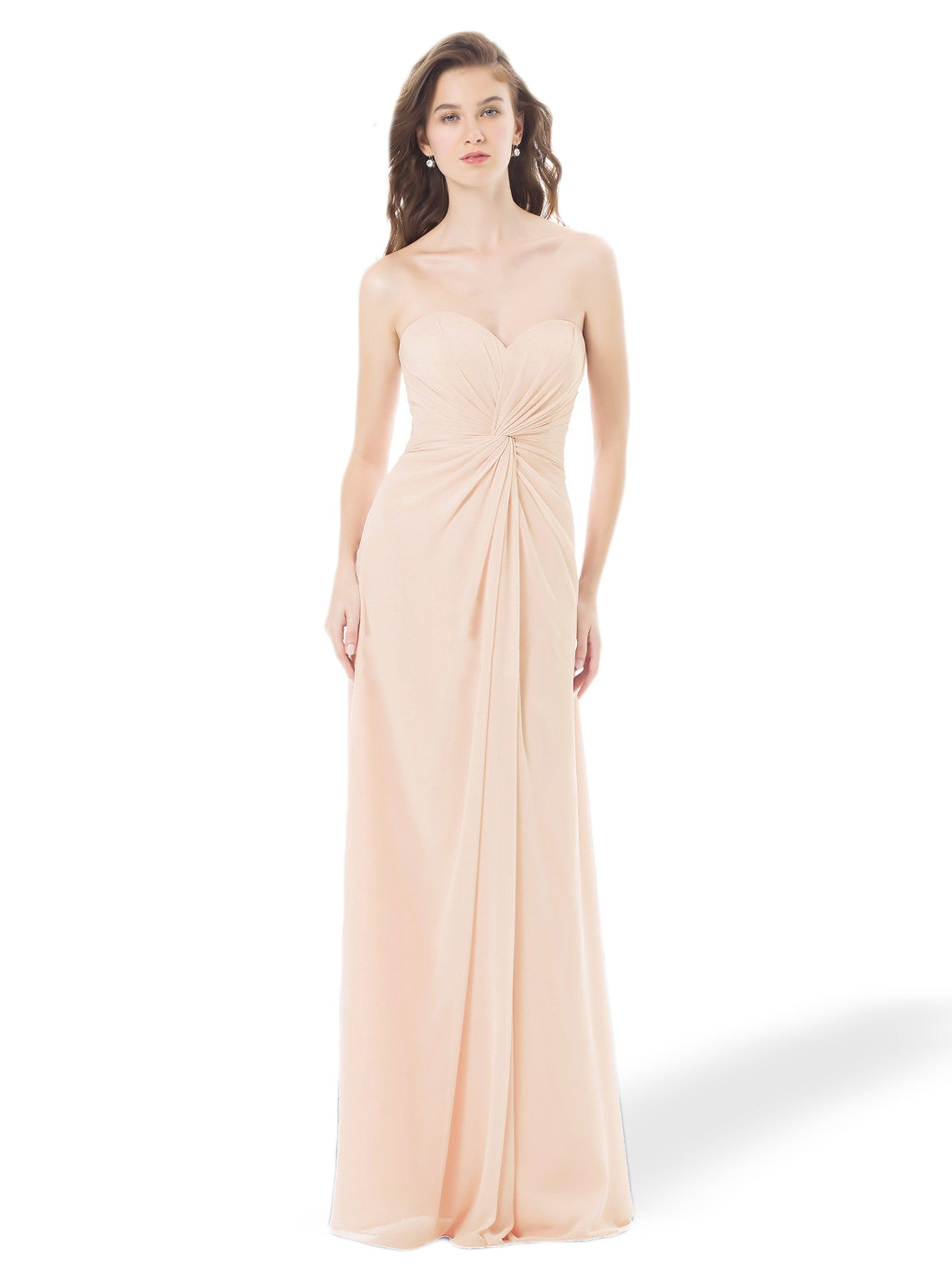 Bridesmaid Dresses Bill Levkoff Petal Pink