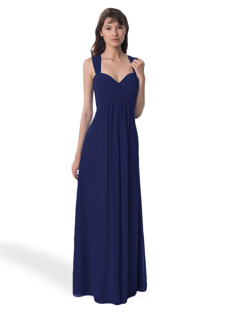 Bill Levkoff 984 Strapped Bridesmaid Dress