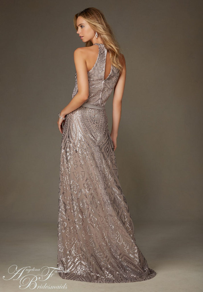 Angelina Faccenda 20475 Sparkly Gown