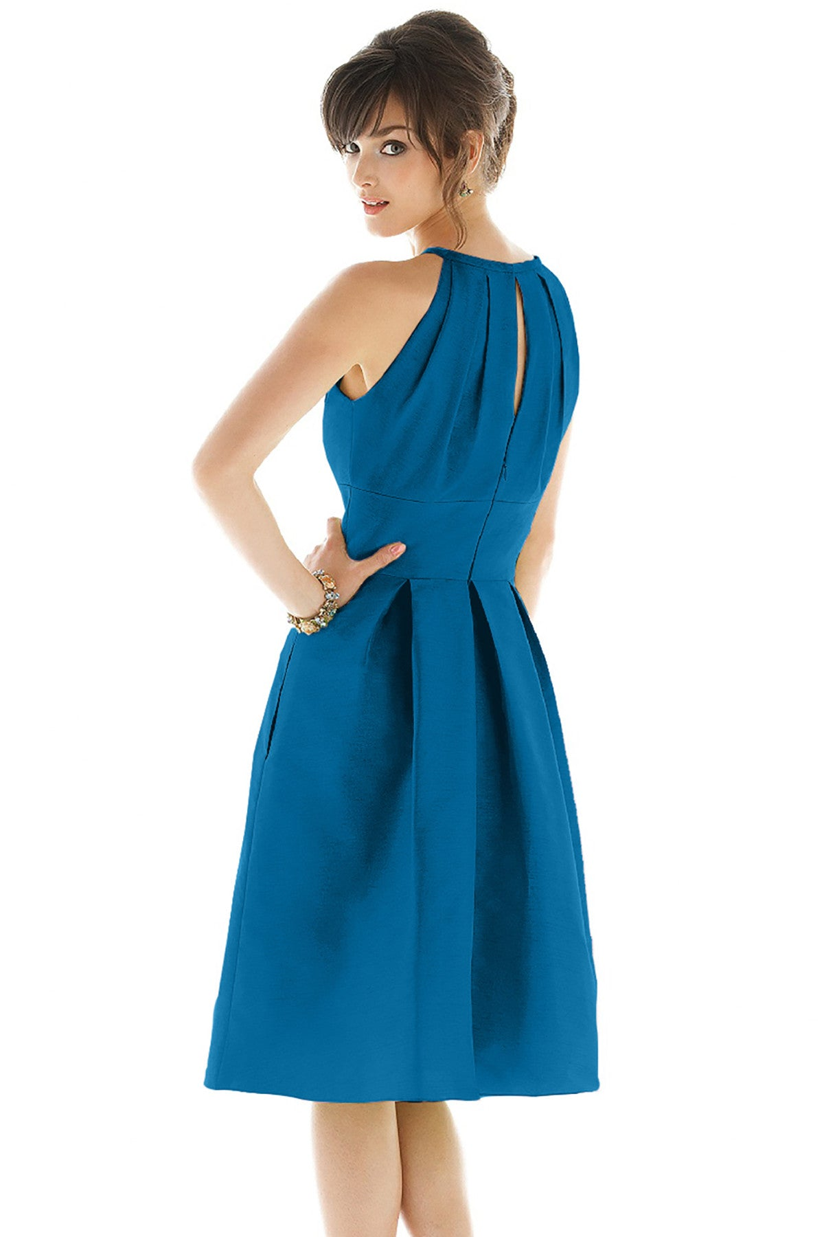 Alfred Sung D449 Bridesmaid Dress - Weddings by Lo