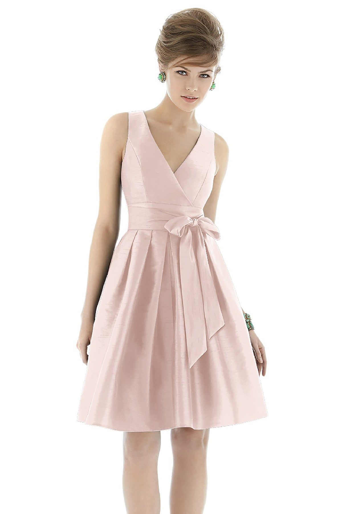 Alfred Sung D666 Bridesmaid Dress - Weddings by Lo