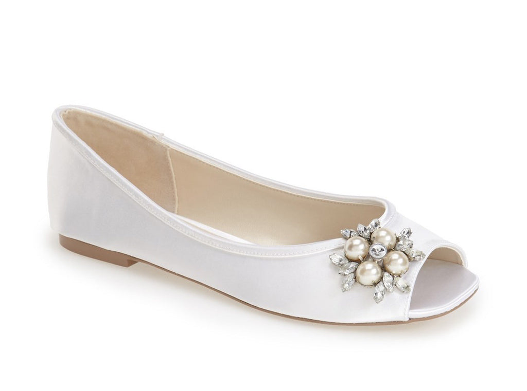 Pink by Paradox London Wedding Shoes Flower