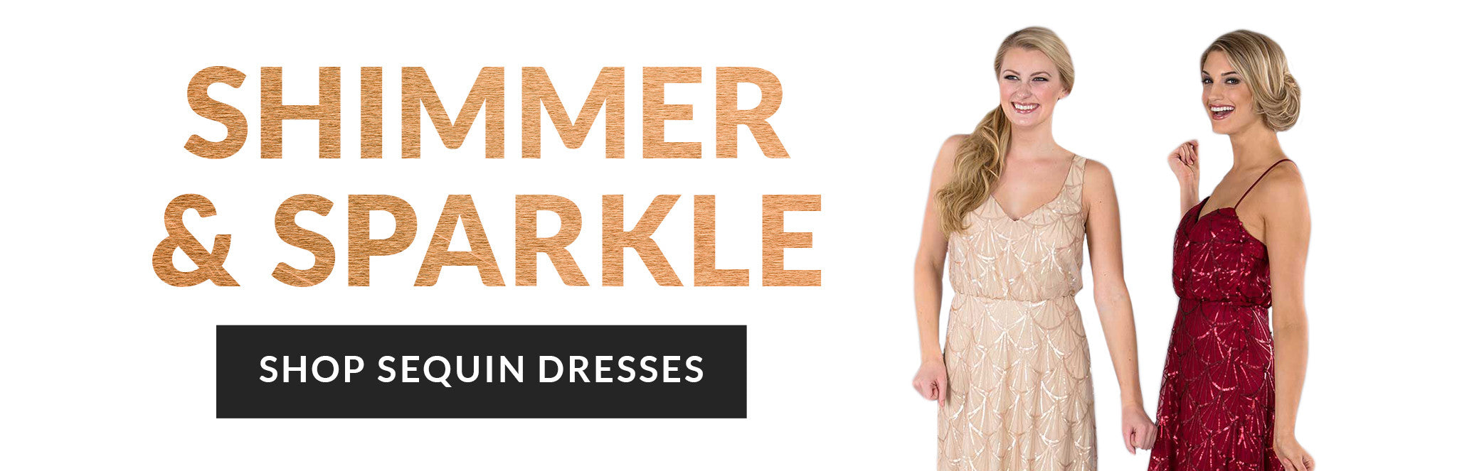 Shimmer & Sparkle: Shop sequin dresses