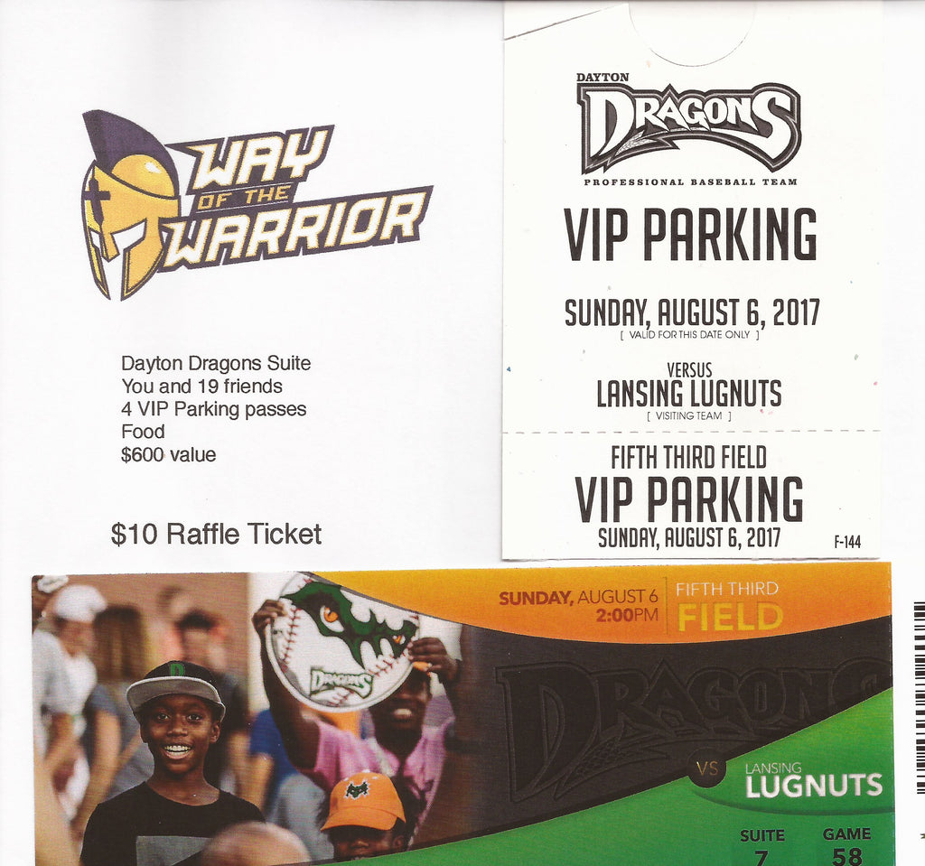Boosters Dayton Dragons Fundraiser