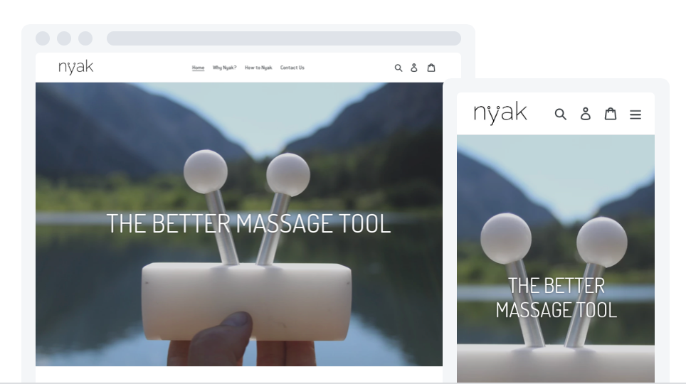 NyaK massage tool