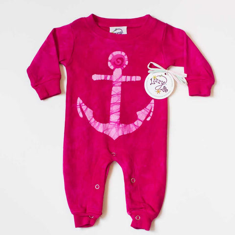 Anchor - Long Sleeve Romper