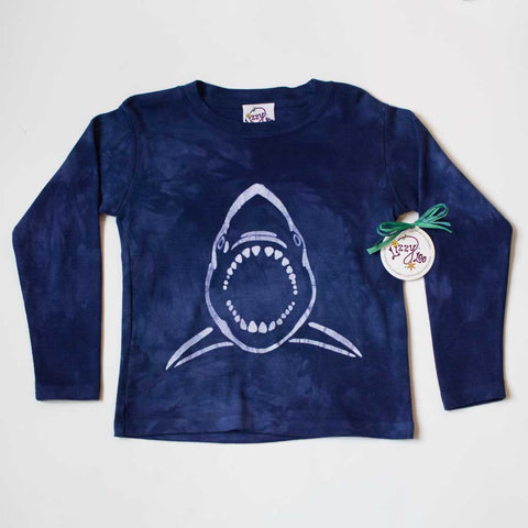 Mac the Shark - Long Sleeve T-Shirt