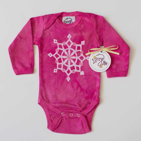 Snowflake - Long Sleeve Bodysuit