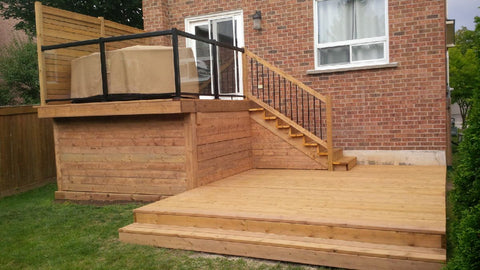 Etobicoke Landscaping Company, P. McConnell Contracting, Backyard Deck, Landscape Design