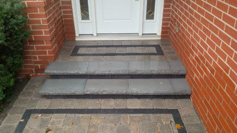 Etobicoke Landscaping, P. McConnell Contracting, Interlock, Patio, Stairs