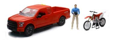 Bio Ford F-150 Pick Up Whonda Dirt Bike