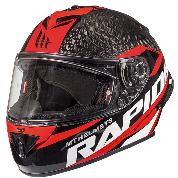 RAPIDE PRO CARBON KID C5 GLOSS RED