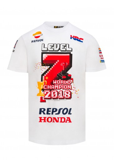 Playera #7 Level World Champion GP