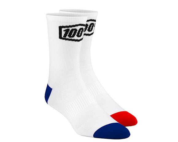 TERRAIN PERFORMANCE SOCK WHITE