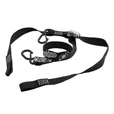DELUXE SOFT HOOK TIE DOWNS LOGO(2PCS)