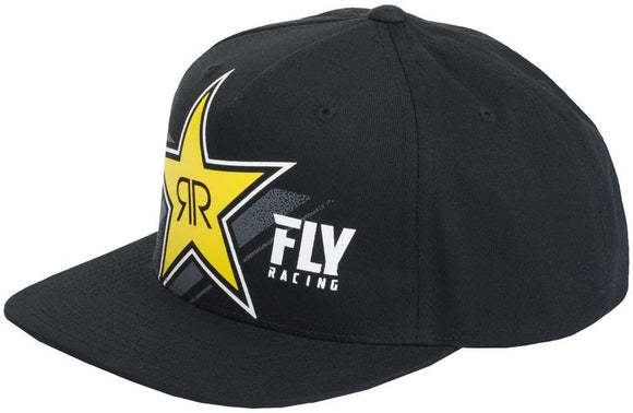 FLY RACING FLY ROCKSTAR HAT BLACK BLACK