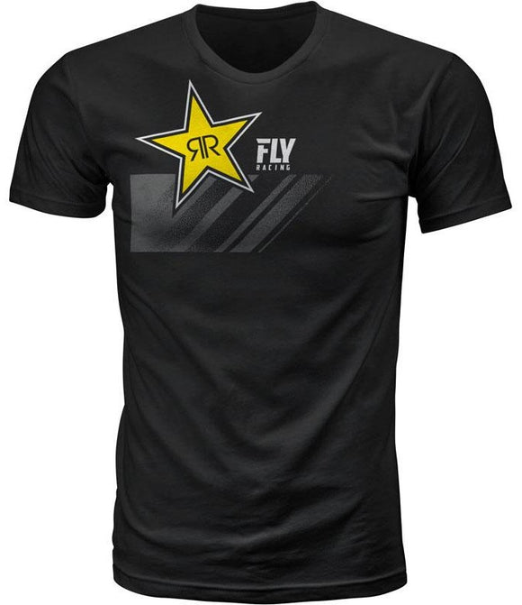 FLY RACING ROCKSTAR TEE BLACK