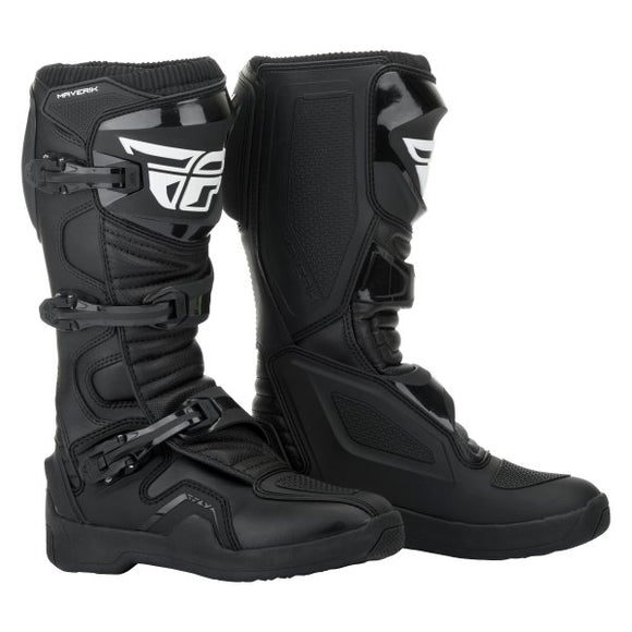 BOTAS FLY RACING MAVERIK BLACK |  SKU: 364-6710