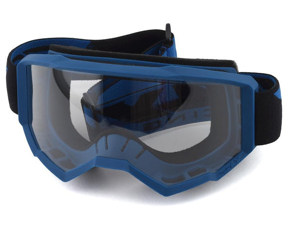 FLY RACING FOCUS GOGGLE BLUE W/CLEAR LENS