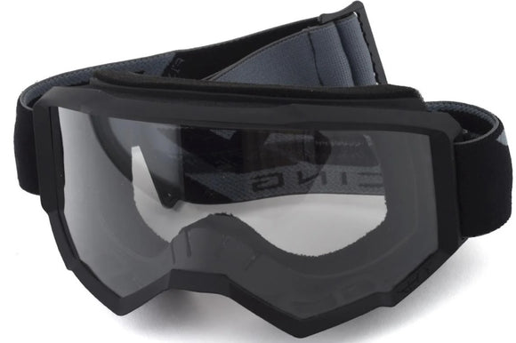 FLY RACING FOCUS GOGGLE BLACK W/CLEAR LENS