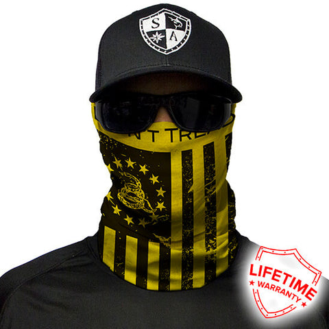 Bandana Multiusos S.A Don't Tread on Freedom Yellow/Black