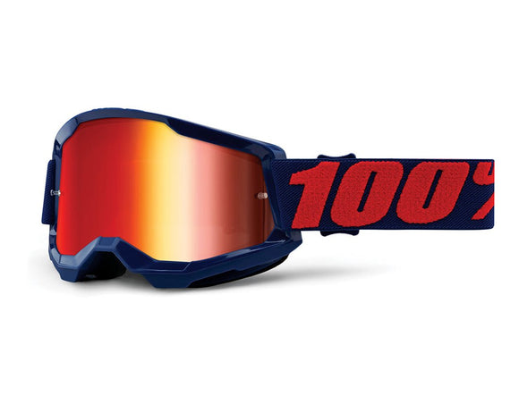 STRATA 2 GOGGLE MASEGO - MIRROR RED LENS