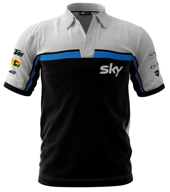SKY RACING TEAM VR46 REPLICA RACE DAY POLO